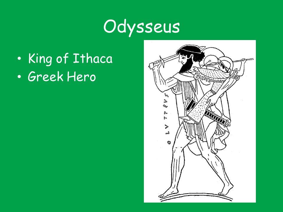 Odysseus King of Ithaca Greek Hero