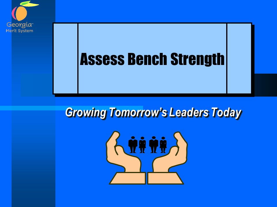 Growing Tomorrow's Leaders Today Assess Bench Strength