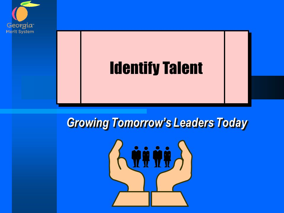 Growing Tomorrow's Leaders Today Identify Talent