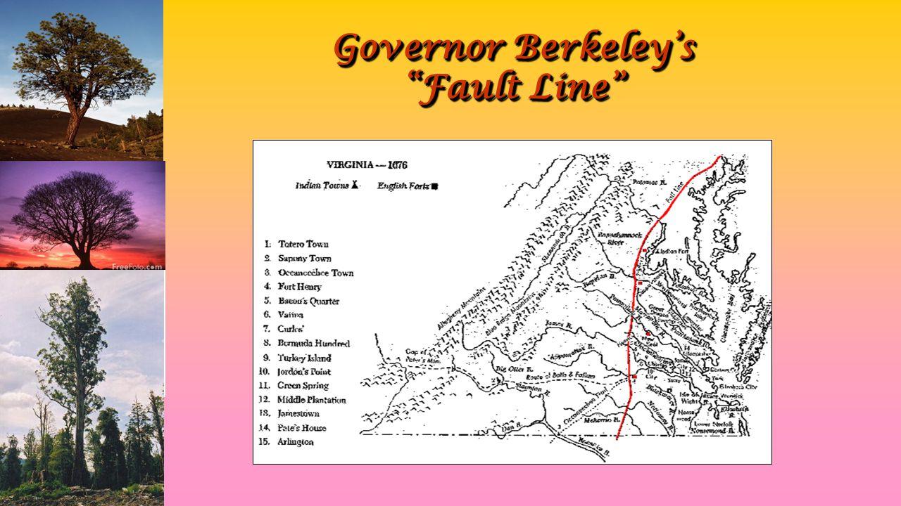 Governor Berkeley's Fault Line