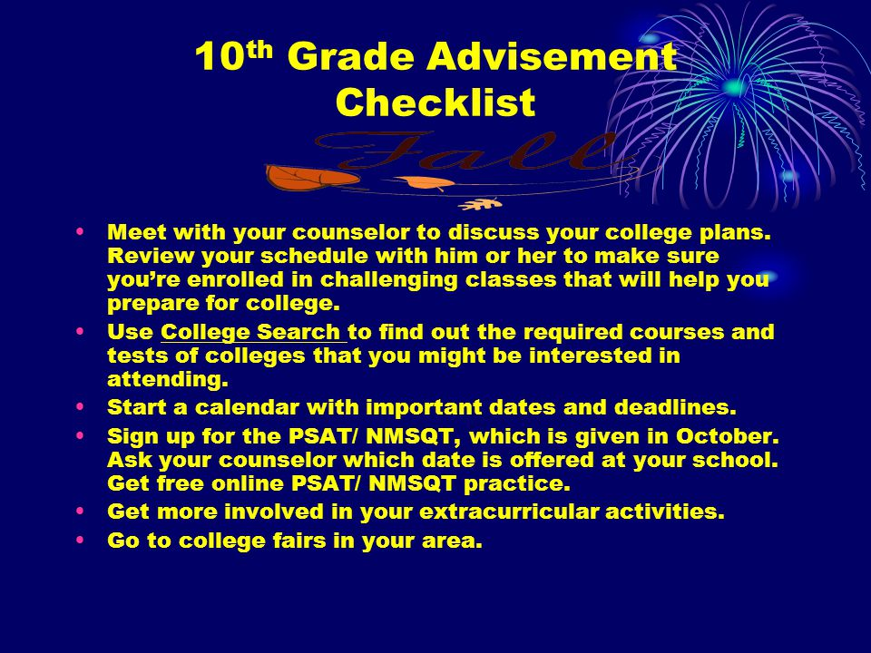 10 th Grade Advisement GAcollege411.org Setting up your My411 is easy: 1.Go to GAcollege411.org & click on the Create an Account link in the left bar 2.Fill in your information 3.Use your secure account to take advantage of all the resources available on the site