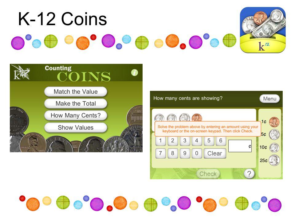 K-12 Coins
