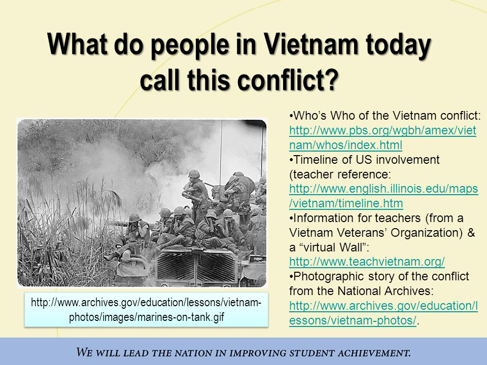 What do people in Vietnam today call this conflict.
