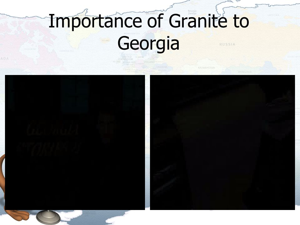 Importance of Granite to Georgia