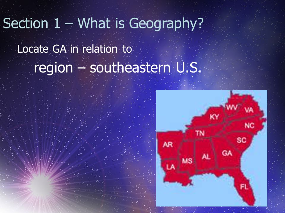 Appalachian Plateau Region Smallest region Called the TAG corner – this is where GA touches TN and AL Region contains lots of caves, rock groups, and deep canyons
