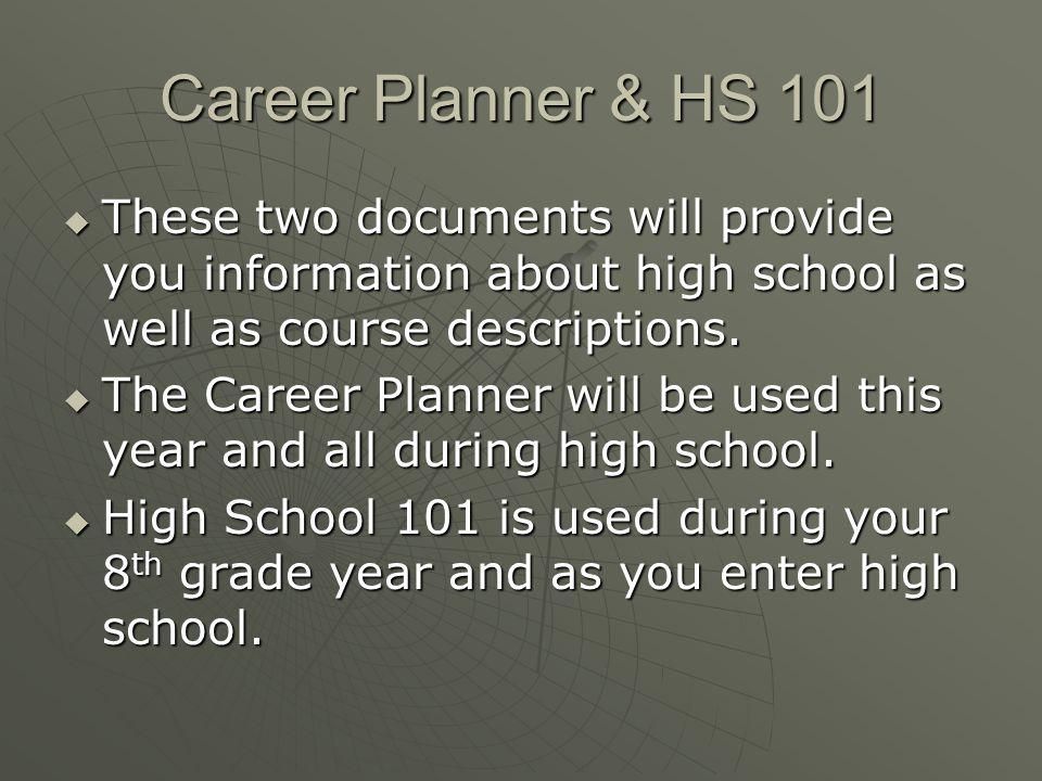 Career Planner Website link: http://www.paulding.k12.ga.us/UserFiles/2/Career-Planner_13-14.pdf Career Planner Website link: http://www.paulding.k12.ga.us/UserFiles/2/Career-Planner_13-14.pdf High School 101 Printed Guide Available During October Conference Week Career Planner Website link: http://www.paulding.k12.ga.us/UserFiles/2/Career-Planner_13-14.pdf