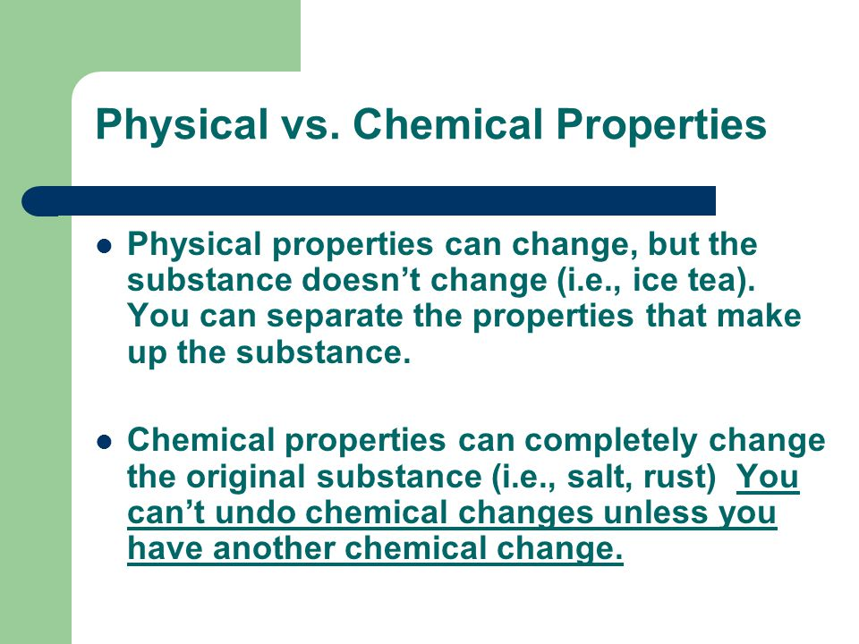 Physical vs.