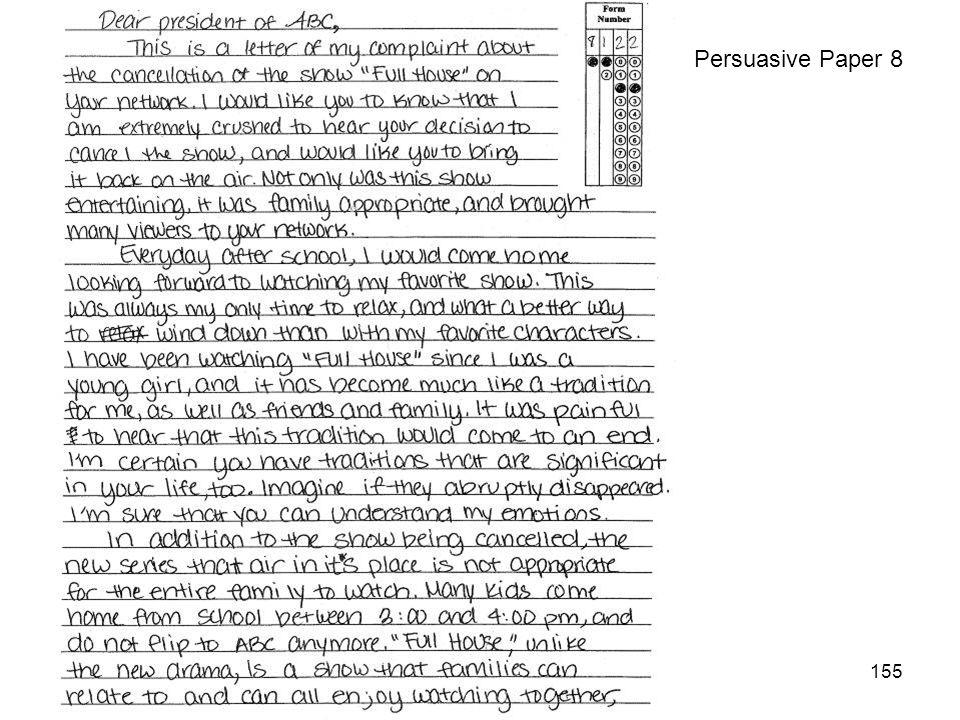 155 Persuasive Paper 8