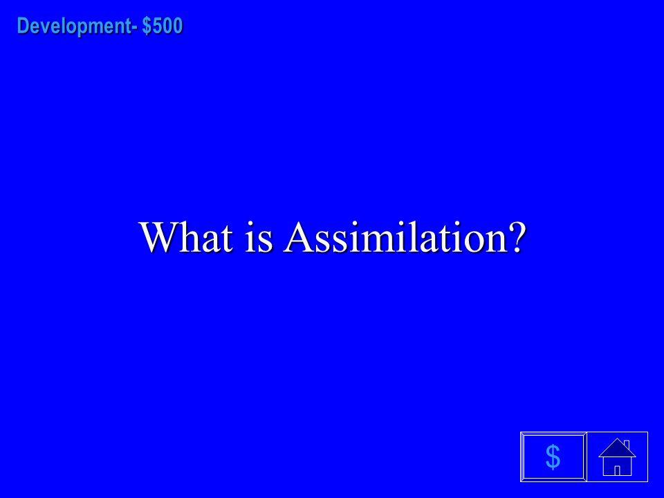 Development - $400 What is Authoritative $