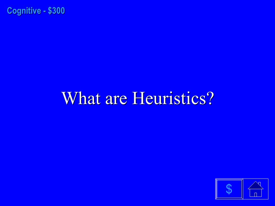 Cognitive - $200 What is an Algorithm $