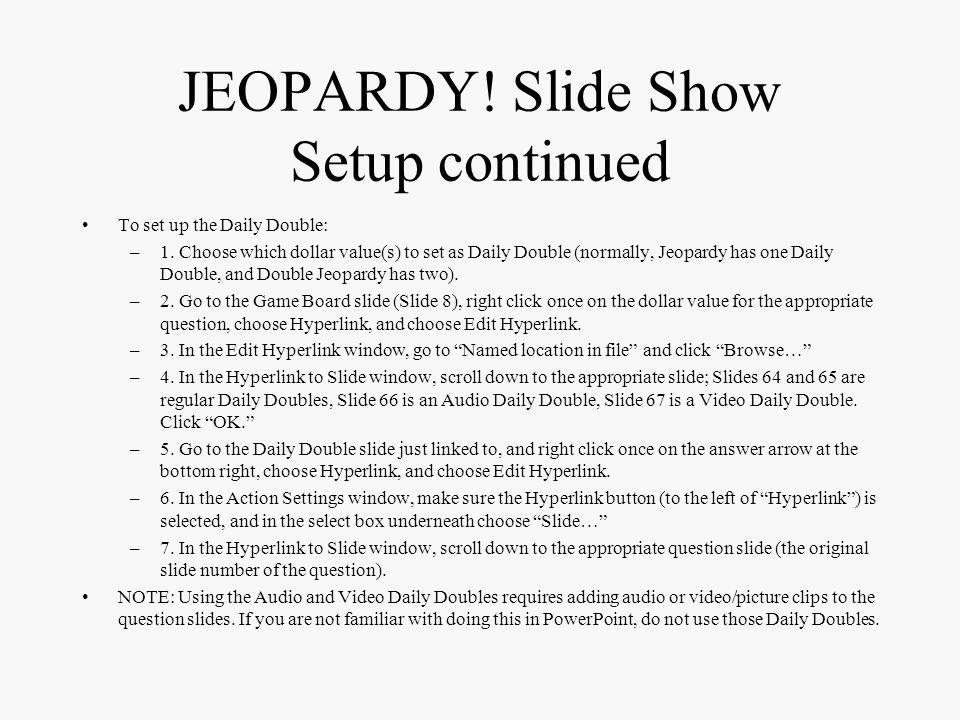 JEOPARDY.