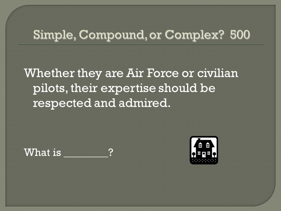 Whether they are Air Force or civilian pilots, their expertise should be respected and admired.