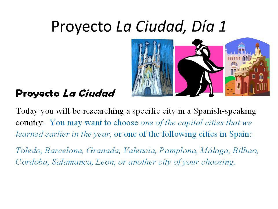 Proyecto La Ciudad, Día 1