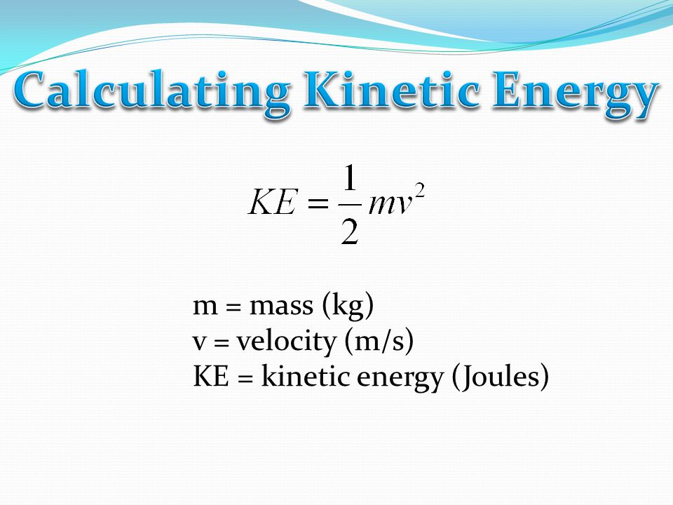 What is the kinetic energy of a 75-kg student running at a speed of 3 m/s?