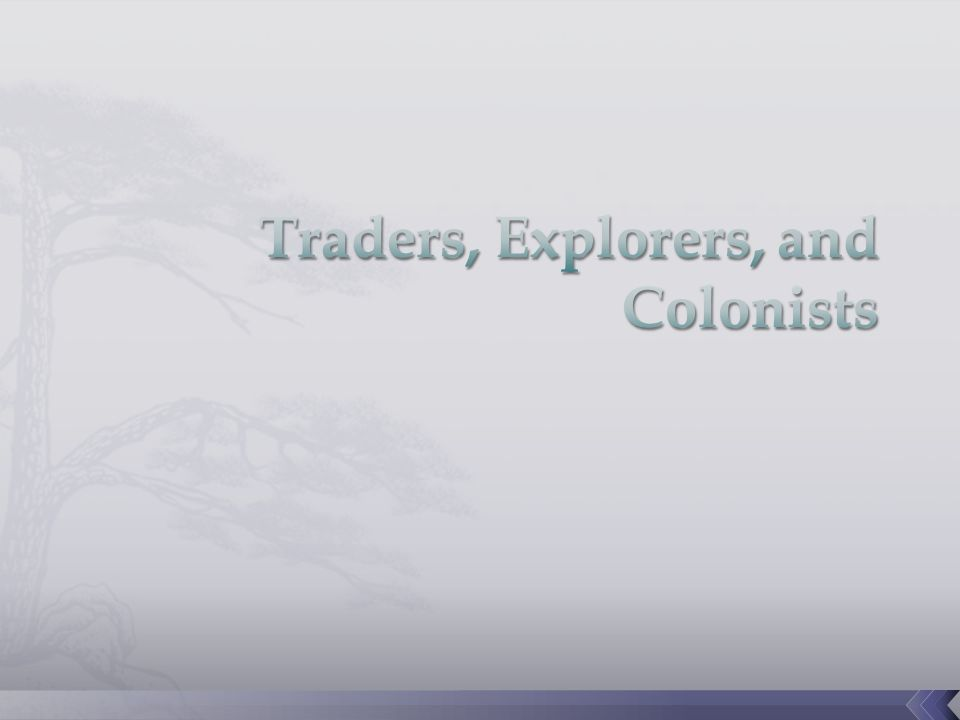  For centuries before the Renaissance, European traders traveled back and forth across the Mediterranean  Merchants commonly journeyed from southern Europe to North Africa and to the eastern Mediterranean.