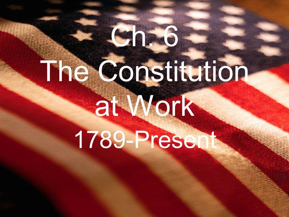 6.1 Goals of the Constitution