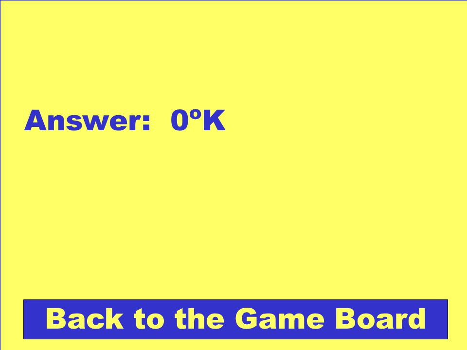 Answer: 0 o K Back to the Game Board