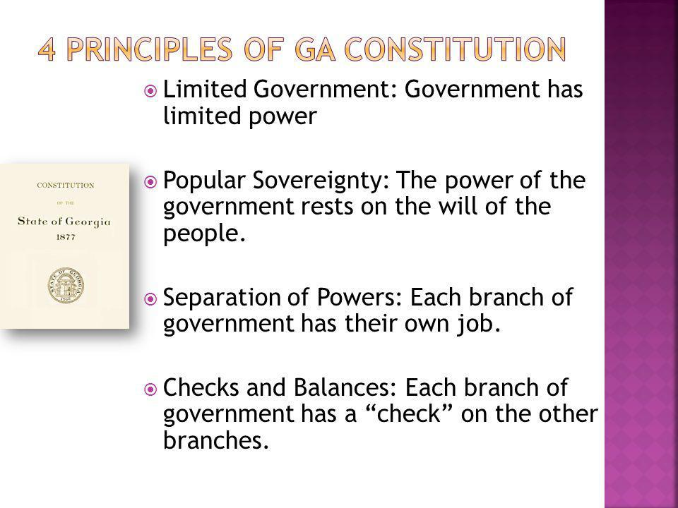  The framers wanted to strengthen the government but prevent the concentration of power in the hands of a small group.