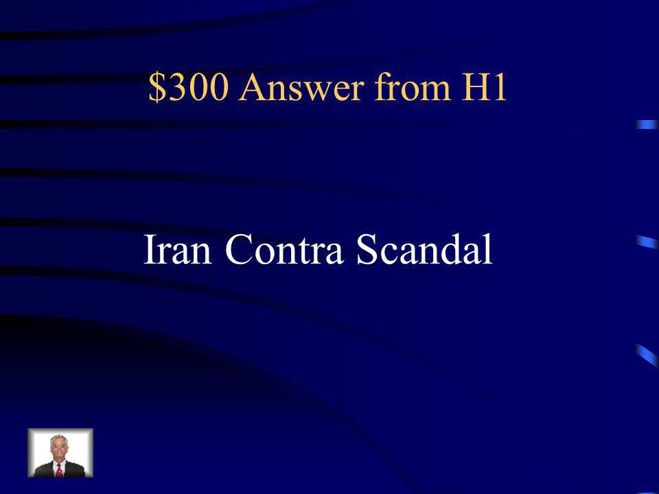 $300 Answer from H3 SNCC