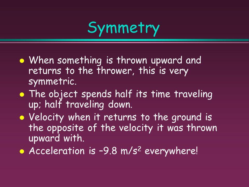 Summary v = v o - gt x = x o + v o t - 1/2 gt 2 v 2 = v o 2 – 2g(∆x)