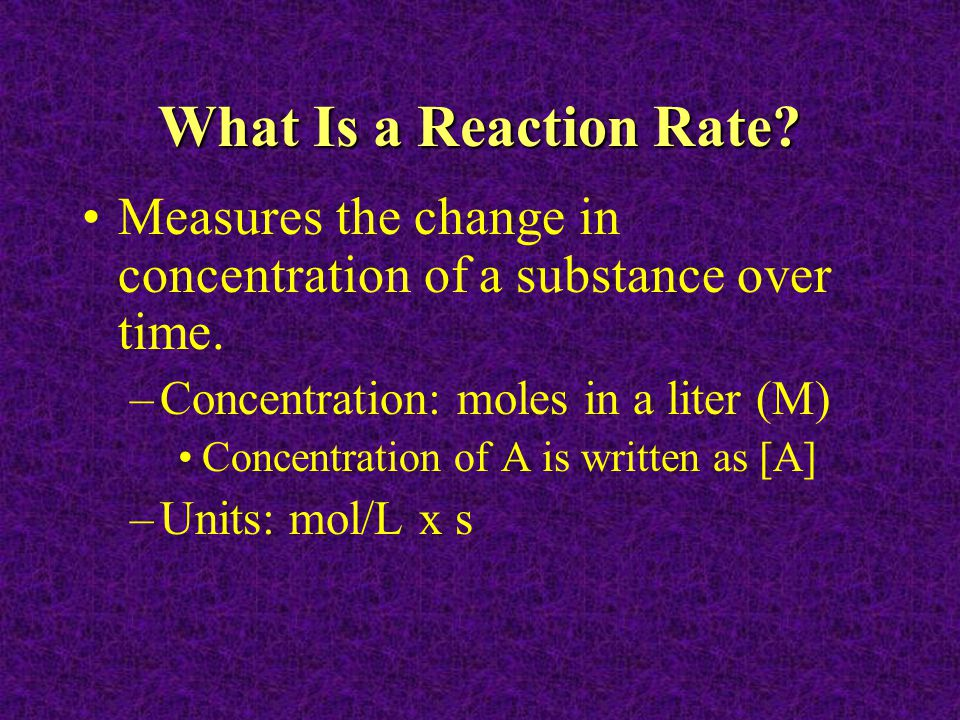 Reaction Rates - Demonstration Group As You have a cup of hydrogen peroxide that is decomposing, observe the reaction and explain what you observe.