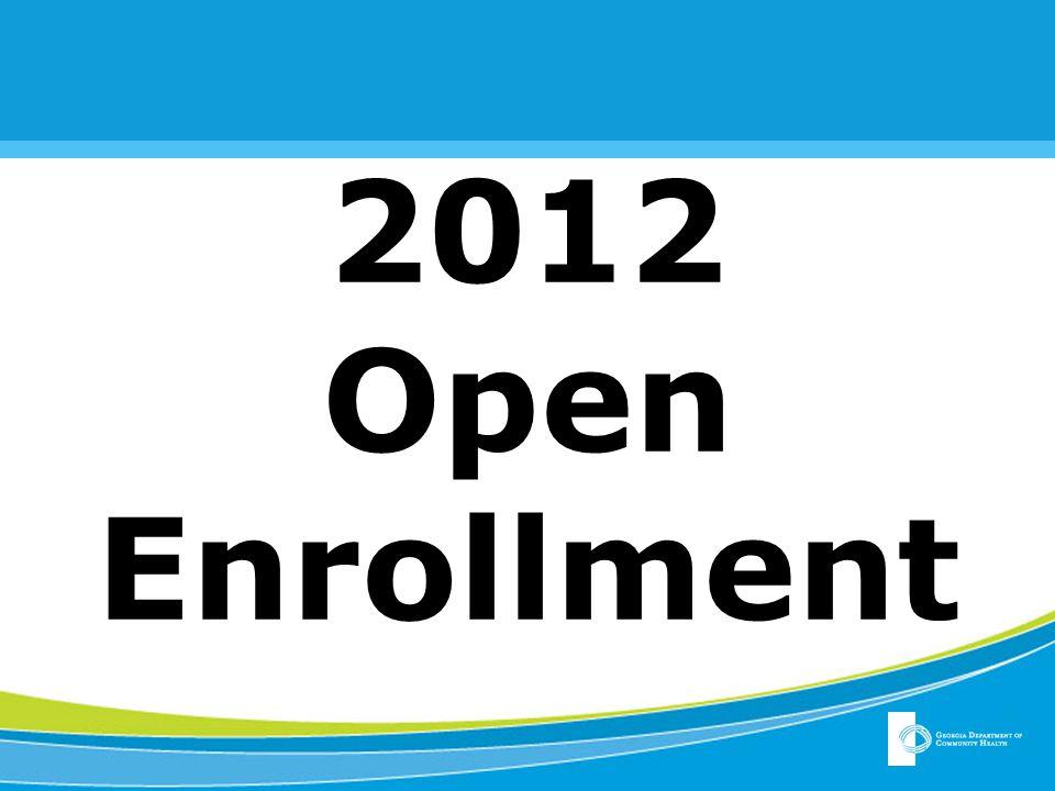 2012 Open Enrollment