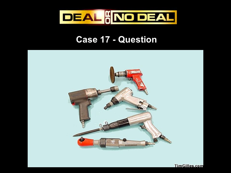 Case 17 - Question