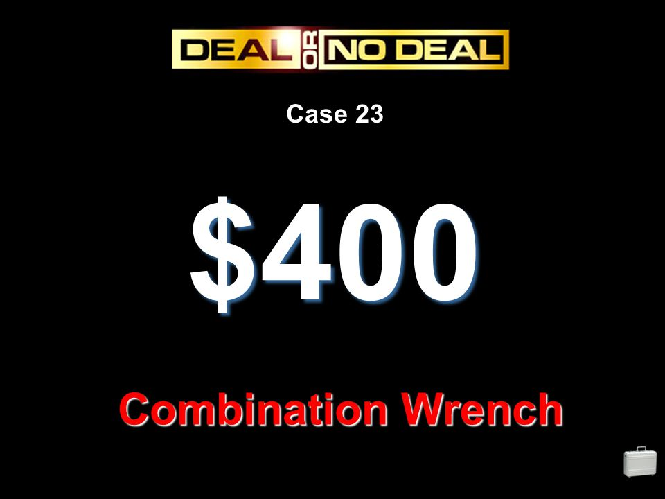 Case 23 $400 Combination Wrench