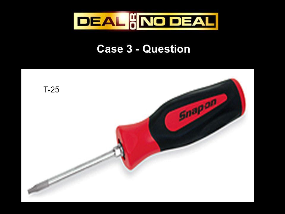 Case 3 - Question T-25