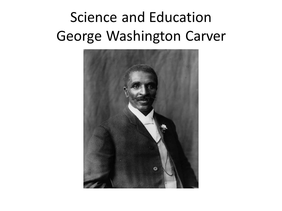 George Washington Carver Carver started studying diseases which were attacking the farmers crops.