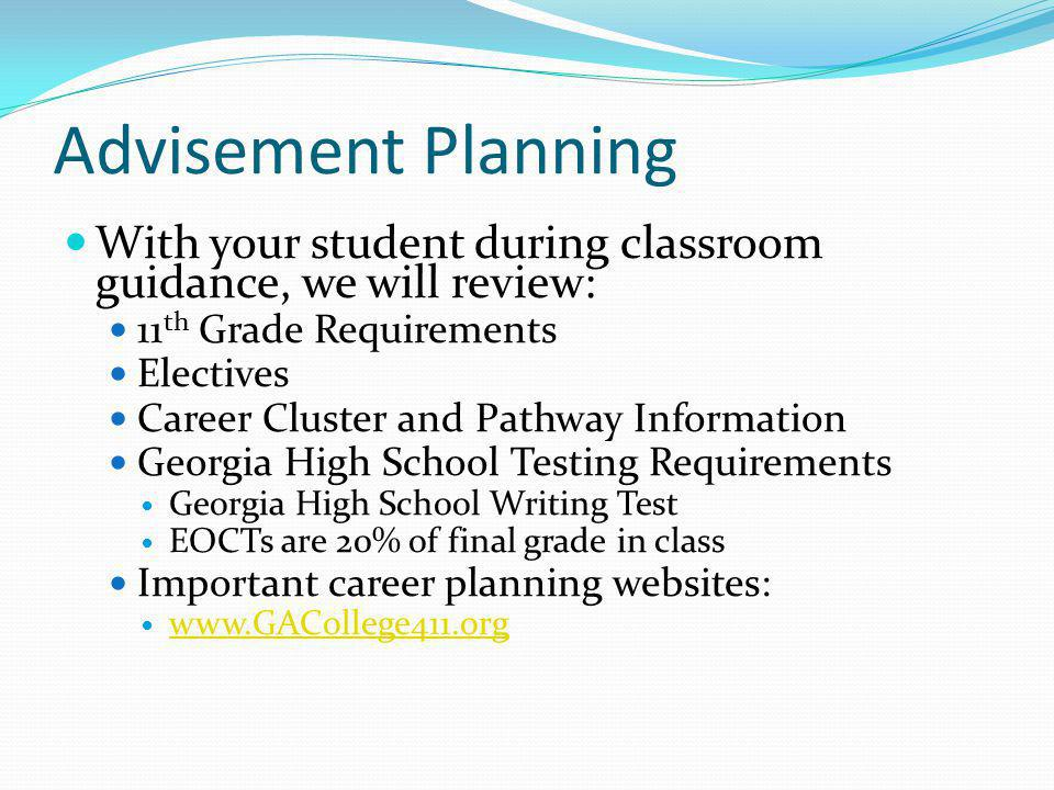 AP and Honors Information Applications will be online at www.paulding.k12.ga.us for the 2014- 2015 school year.