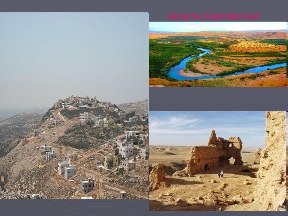 Along the Euphrates River