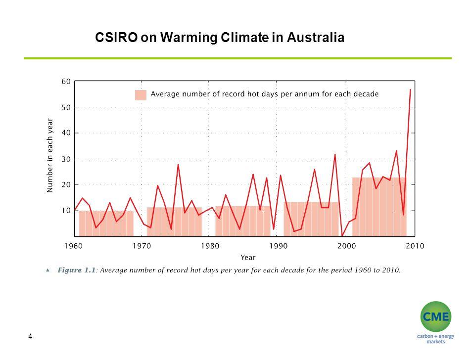 CSIRO on Warming Climate in Australia 4