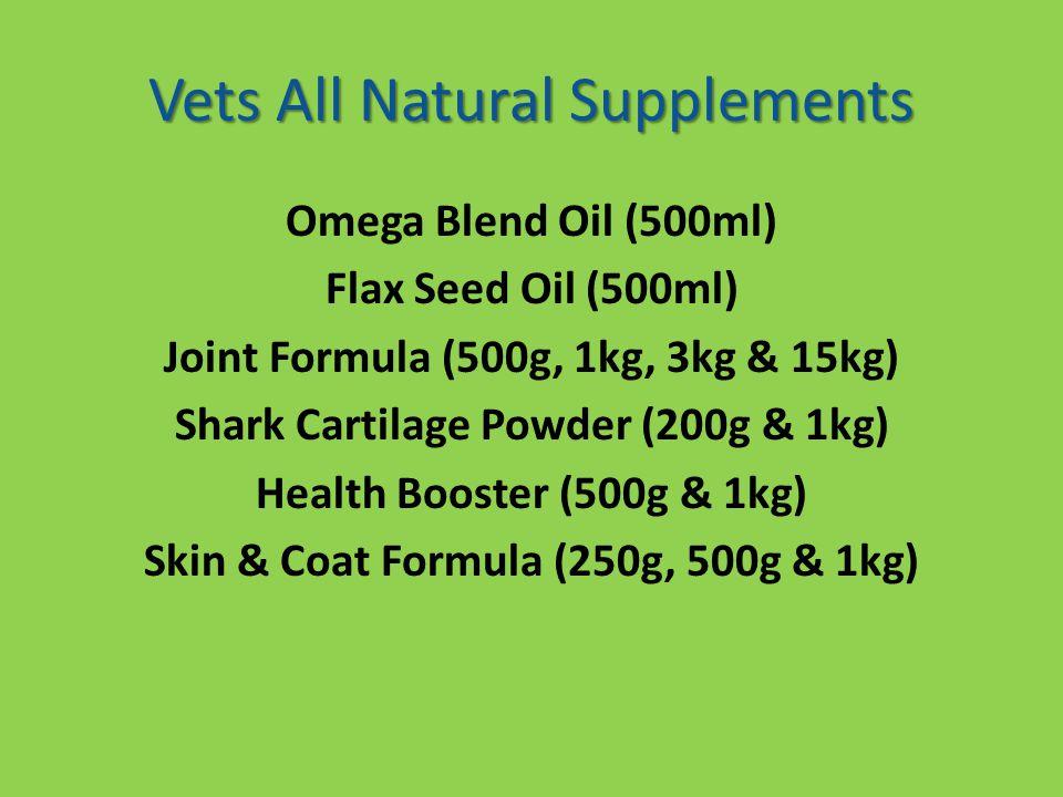 Omega Blend & Flax Seed Oil
