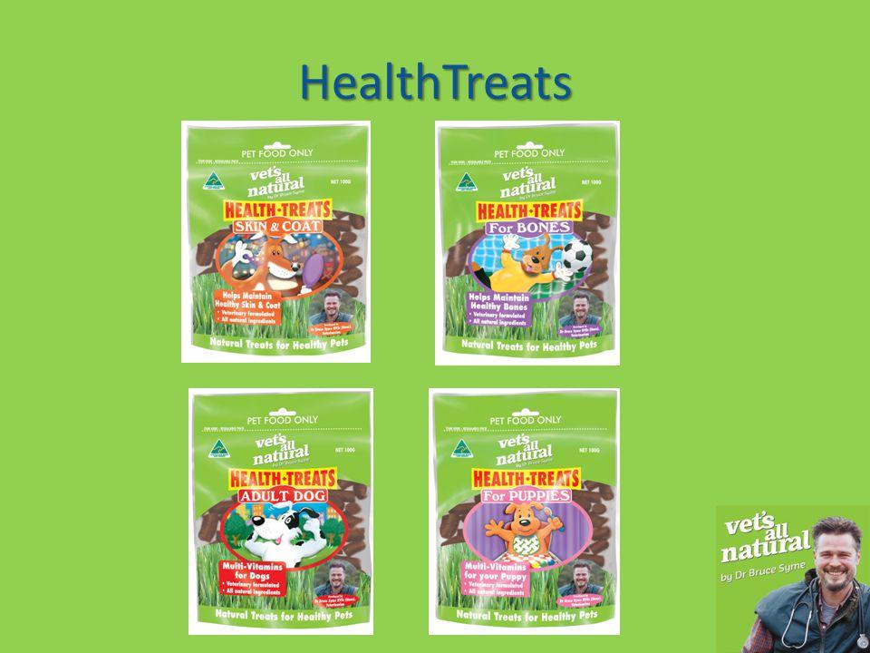 HealthTreats HealthTreats are a revolutionary new dog treat.