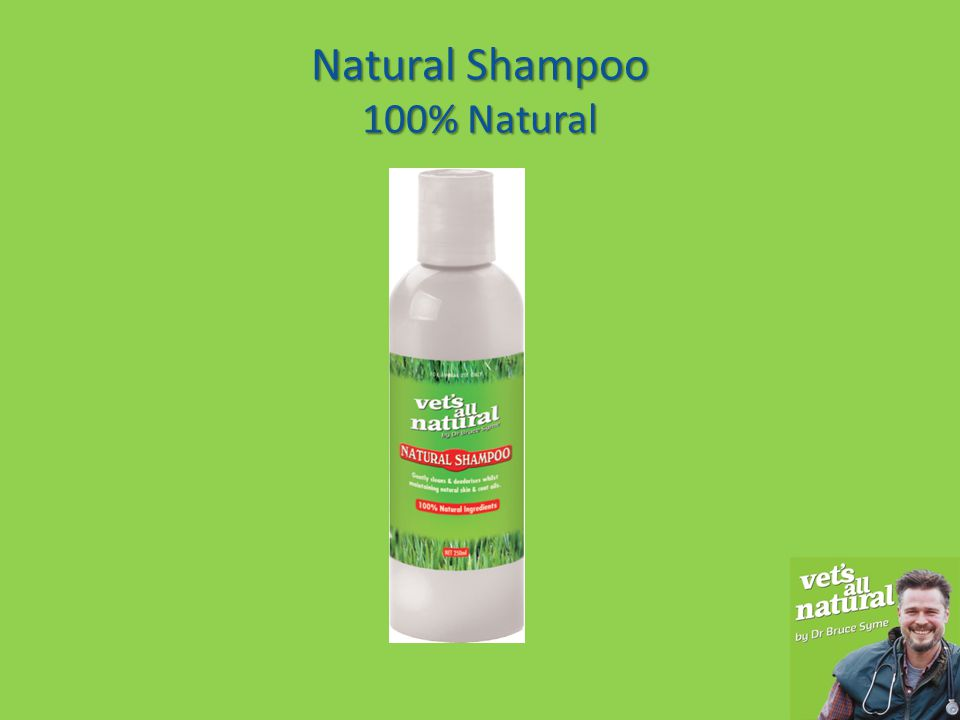 It contains no synthetic chemicals which means the natural oils within your animal's skin & coat are maintained.