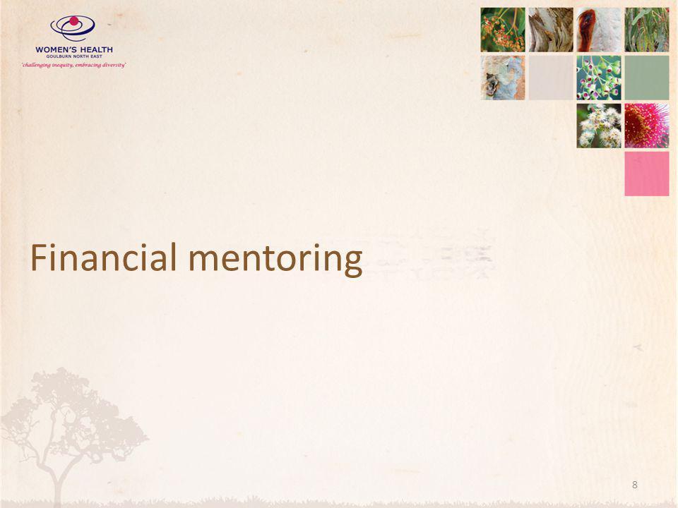 Financial mentoring 8