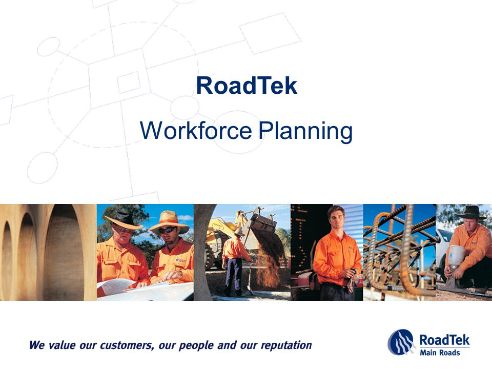 Workforce Planning RoadTek