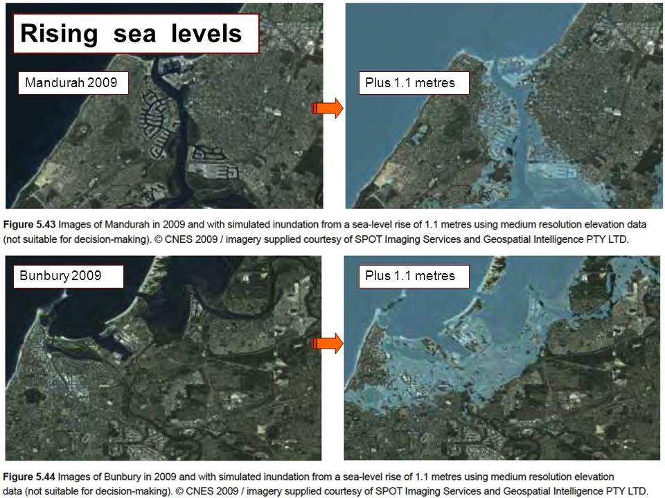 ©2012 annimac www.annimac.com.au 14 Mandurah 2009Plus 1.1 metres Bunbury 2009Plus 1.1 metres Rising sea levels