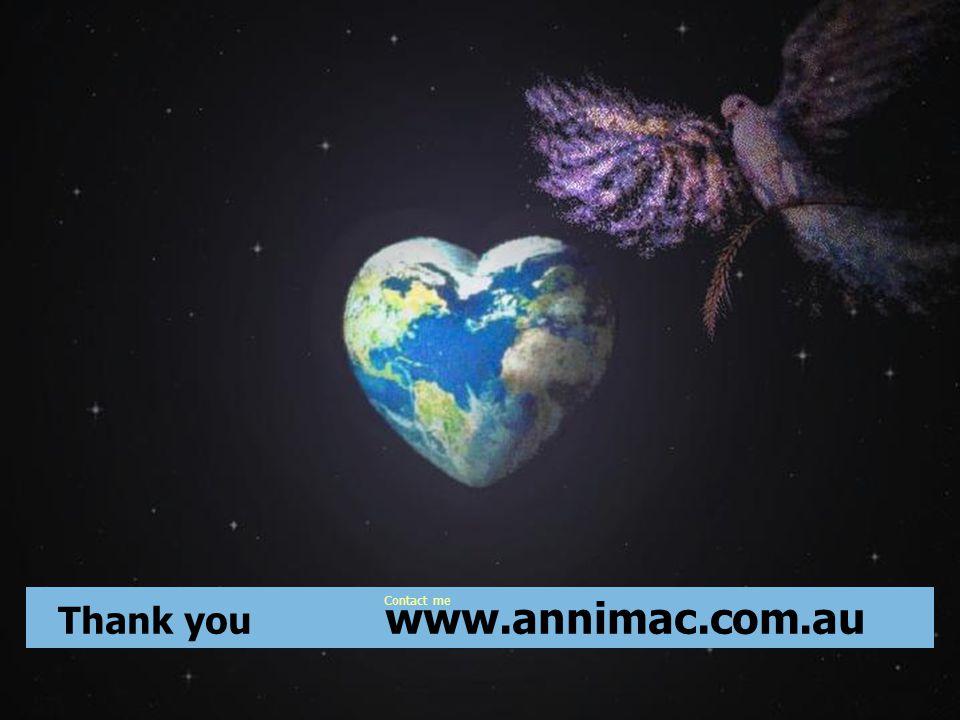 ©2012 annimac www.annimac.com.au 33 Thank you www.annimac.com.au Contact me