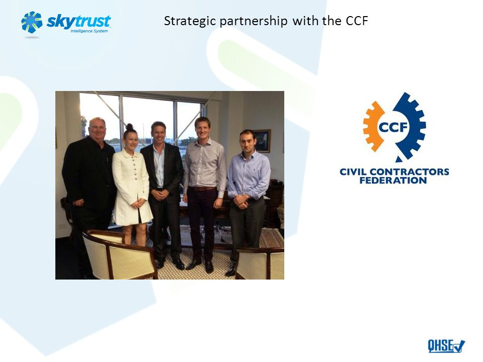 Strategic partnership with the CCF
