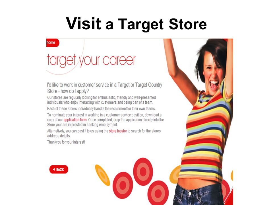 Visit a Target Store