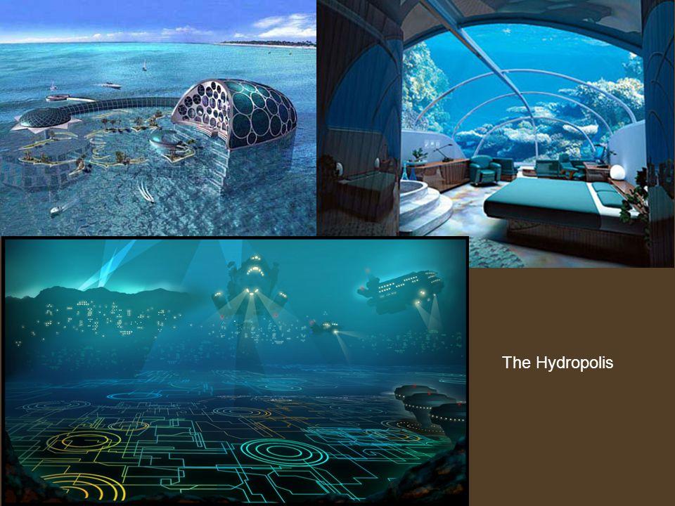 Hydropolis, the world s first underwater hotel.