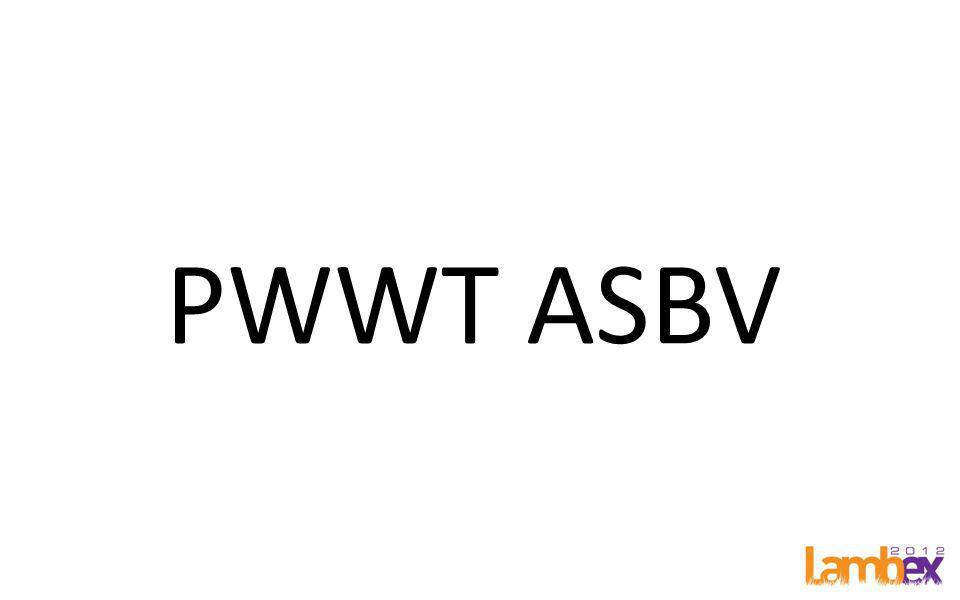 PWWT ASBV