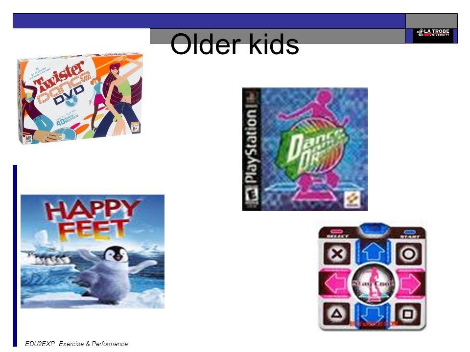 EDU2EXP Exercise & Performance Older kids