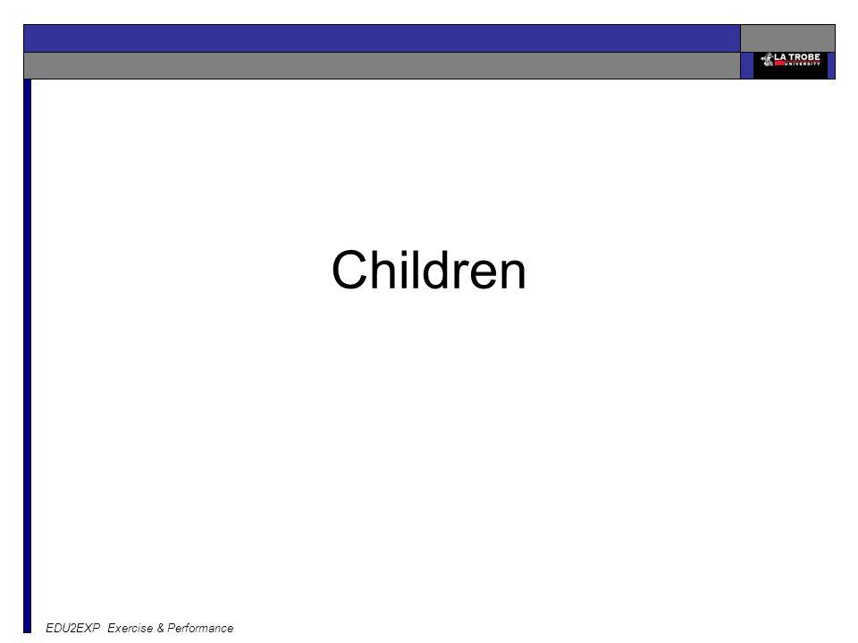 EDU2EXP Exercise & Performance Children