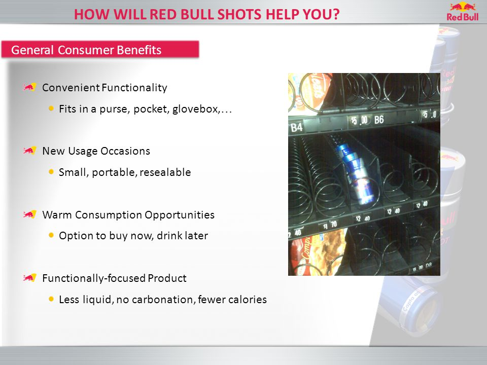 HOW WILL RED BULL SHOTS HELP YOU.