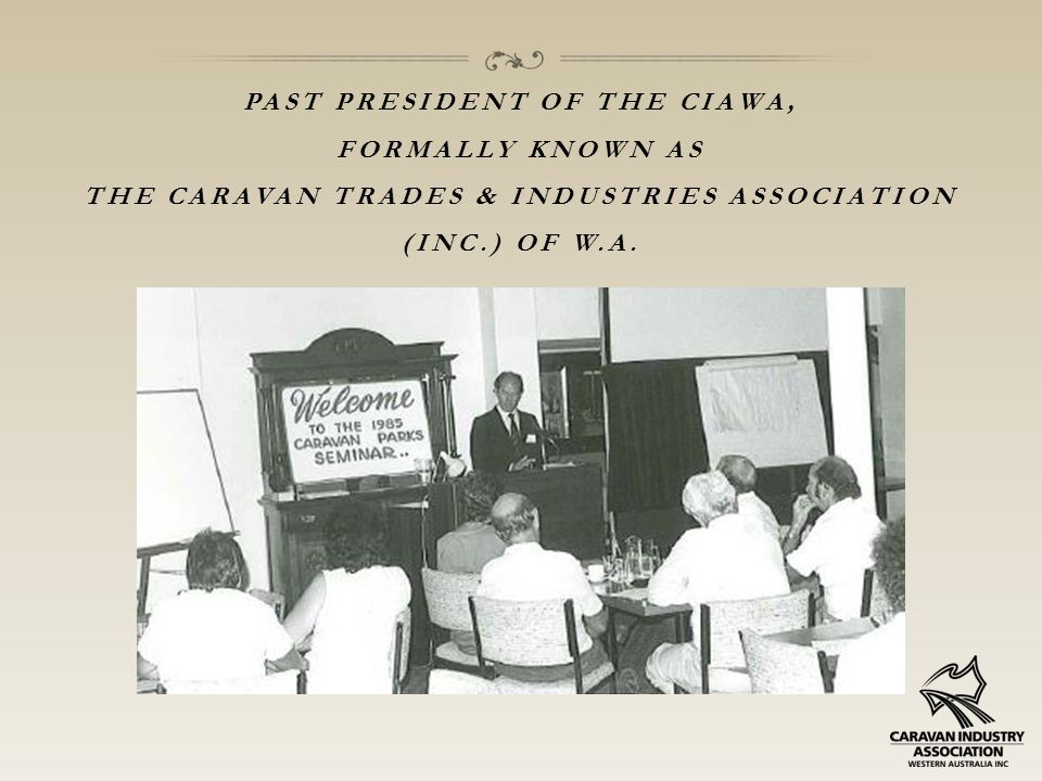 FLEETWOOD WAS ALWAYS INVOLVED WITH THE CARAVAN & CAMPING SHOWS