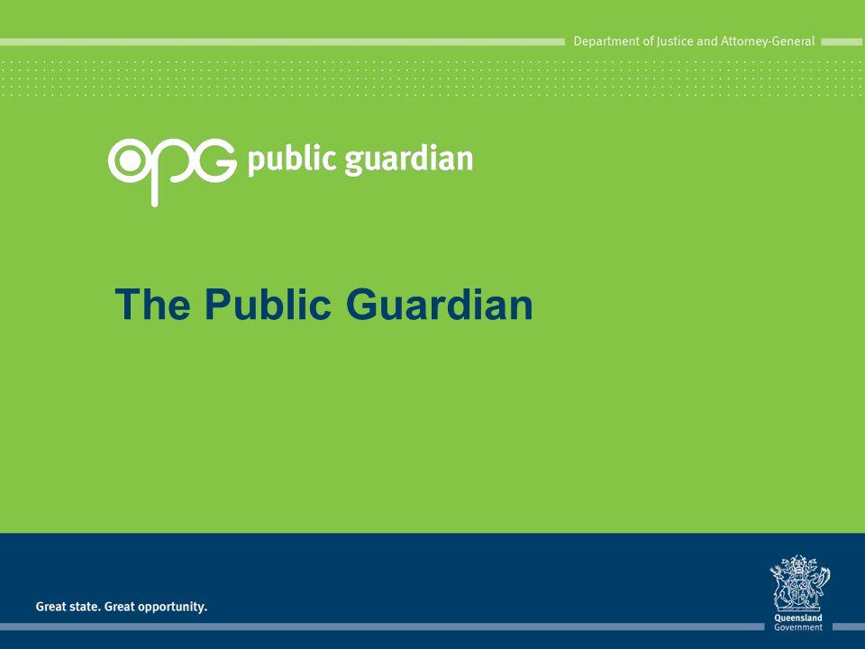 The Public Guardian