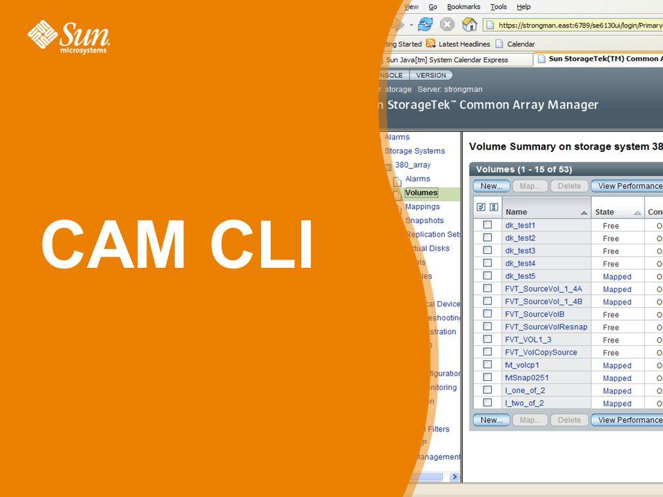 CAM CLI